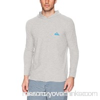 Quiksilver Men's Amphibian Hood Long Sleeve White B073VFFCB7