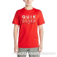 Quiksilver Men's Fully Stacked Short Sleeve Rash Guard Small B0183I6W0M