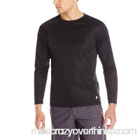 TRUNKS Men's UPF 20+ Long Sleeve Swim Tee Black B00SWSSDBA