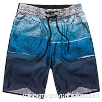 Vcenty Men's Basic Watershorts Quick Dry Swim Trunks Boardshort Surf Bathing Suit Blue B07F2VGS69
