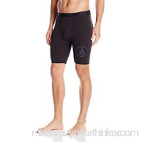 Volcom Men's Jj Chones Compression Short Black B016DGN1AU