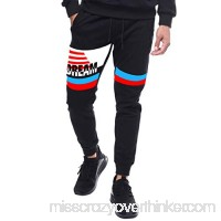 YOcheerful Mens Pants Mens Spring Pants Trousers Boy Black Hip hop Sweatpants Loose Fit Sportswear Trousers Overalls Black B07M7RY4VP