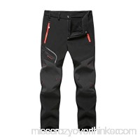yoyorule Casual Pants Men Waterproof Windproof Outdoor Camping Hiking Warm Thick Trousers Pants L B07PRHV5S9
