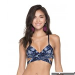 AGUA BENDITA SKYFLOWER RITA TOP Blue B07565XFM3