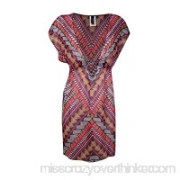 Becca by Rebecca Virtue Women's Caravan Tunic Cover-up Multi B07HX4ZZ47