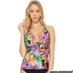 Jantzen Womens Floral Tropical Halterkini Multi B0793293FS