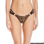 Beach Bunny Women's Gunpowder and Lace Skimpy Bikini Bottom Black B01NBSXW5Z