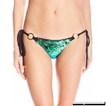Beach Bunny Women's Siren's Song Tie Side Skimpy Bottom Green Ombre B01MR48RA9