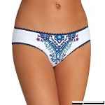 Becca by Rebecca Virtue Women's Inspired Print Reversible Hipster Bikini Bottom Multi B01N3687UW