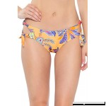 Becca by Rebecca Virtue Women's Loop Tie Side Hipster Bikini Bottom Multi B07M92SSQ4