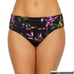 Fantasie Palawan Fold-Over Bikini Bottom Tropical Black B07KK193BF
