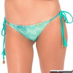 Luli Fama SIETE MARES Wavey Ruched Back Full Tie Side Bottom Multicolor B019WZ2IE4