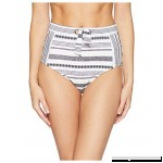 Tommy Bahama Womens Sandbar Stripe High-Waist Pants Bikini Bottoms White Size Medium  B078HC73R5
